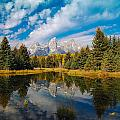 Schwabacher Autumn by Jim Southwell