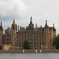 Schwerin Castle Front Aspect by Christiane Schulze Art And Photography