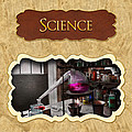 Science Button by Mike Savad