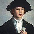Scoreljan Van 1495-1562. Portrait by Everett
