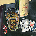 Scotch And Cigars 2 by Debbie DeWitt