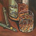 Scotch And Cigars 3 by Debbie DeWitt