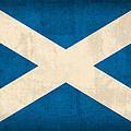 Scotland Flag Vintage Distressed Finish by Design Turnpike
