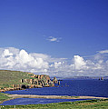 Scotland Shetland Islands Eshaness Cliffs by Anonymous