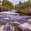 Scotland's Falls Of Dochart - Killin Scotland by Jason Politte