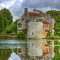 Scotney Castle Reflections by Chris Thaxter