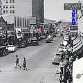 Scott Congress State Theater La Fiesta De Los Vaqueros Rodeo Banners Circa 1939 Tucson Az by David Lee Guss
