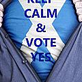 Scottish Businessman Votes Yes by Antony McAulay