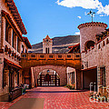 Scotty's Castle Courtyard by Robert Bales