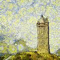 Starry Scrabo Tower by Nigel R Bell