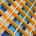 Scratchy Hotel Facade by Henrik Lehnerer