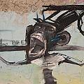 screaming Monkey by Jan Katuin
