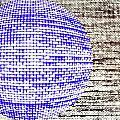 Screen Orb-30 by Larry Jost