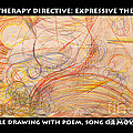 Scribble And  Poem Expressive Therapy by Anne Cameron Cutri