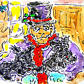 Scrooge And Scotties by Joyce  Kenney