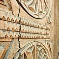 Sculpted Wooden Door by Vlad Baciu