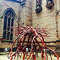 Sculpture At Trinity Church by Joseph Paulino