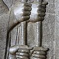 Sculpture From Persepolis In Iran by Robert Preston