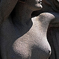 Sculpture Of Angelic Female Body by Charline Xia