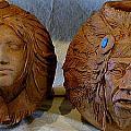 Sculptured Vases by Tim  Joyner