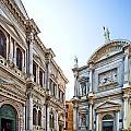 Scuola Grande Di San Rocco And San Rocco Church by Felipe Rodriguez
