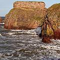 Sea And Rocks by John Bailey
