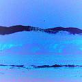 Sea At Its Bluest by SilkAndPaper Art