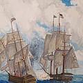 Sea Battle-war Of 1812 by Philip Lee