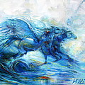 Sea Horses by Heather Calderon