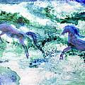 Sea Horses by Joan Hartenstein
