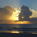 Sea Island Sun Rays by Reid Callaway
