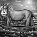 Sea Lion In Bw by Leah Saulnier The Painting Maniac