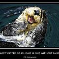 Sea Otter Motivational  by Fabrizio Troiani
