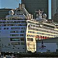 Sea Princess At Pier 29 San Francisco by DUG Harpster