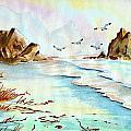 Sea Shore Impressions by Dale Jackson