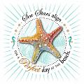 Sea Stars Align For A Perfect Day At The Beach by Amy Kirkpatrick