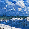 Sea Storm Coming Soon by Yury Malkov