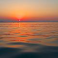 Sea Sunset by Grigorios Moraitis