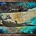 Sea Swept Love by Absinthe Art By Michelle LeAnn Scott