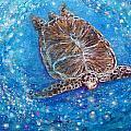 Sea Turtle Mr. Longevity by Ashleigh Dyan Bayer