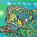 Sea Turtle Sam by Janice Pariza
