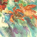 Sea Turtles by Deborah Younglao