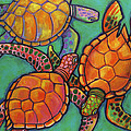 Sea Turtles by Ilene Richard