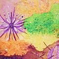 Sea Urchins - Abstract by Ellen Levinson