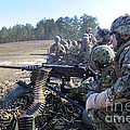Seabees Fire The M2 .50-caliber Machine by Stocktrek Images