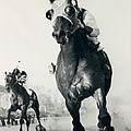 Seabiscuit Horse Racing #3 by Retro Images Archive
