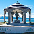 Seafarer's Memorial On Homer Spit-ak by Ruth Hager