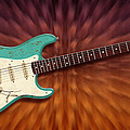 Seafoam Strat by WB Johnston