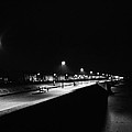 Seafront Promenade At Night by Preston Reed