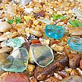 Seaglass Coastal Beach Rock Garden Agates by Baslee Troutman